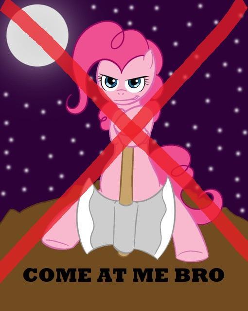 Все пони, наша банда дает вам шанс сдаться и уйти. В случае неповиновения, вы будете схвачены и отданы в банду пони- .... - Изображение 1