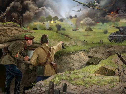 Вторая Мировая война стала одной из популярных тем в списке созданных компьютерных игр. Количество игр, которые посв ... - Изображение 2