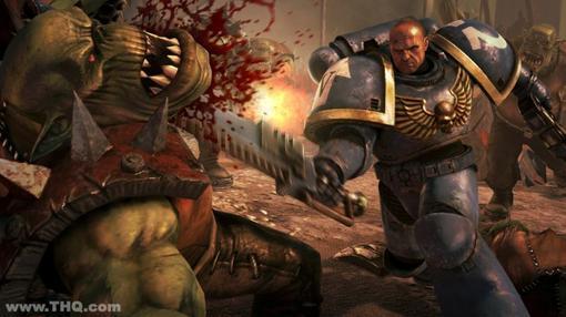 Warhammer 40k: Space Marine – глупый, прямолинейный, топорный шутер от третьего лица. Здесь нет ни одной свежей идеи ... - Изображение 1