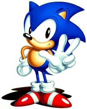 Да да это тот самый сверхзвуковой синий ёж символ компании sega.Игра может показаться ленивой копией MARIO но в игре ... - Изображение 1