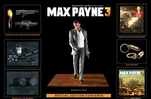 Rockstar Games анонсировала специальное издание шутера Max Payne 3. В комплекте стоимостью $99,99 будут представлены .... - Изображение 1