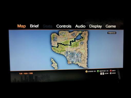 В сеть утекла карта из предстоящей игры от Rockstar's , GTA V .Наши источники сообщают, что это финальная версия кар ... - Изображение 1