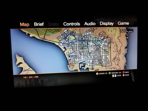 В сеть утекла карта из предстоящей игры от Rockstar's , GTA V .Наши источники сообщают, что это финальная версия кар ... - Изображение 2