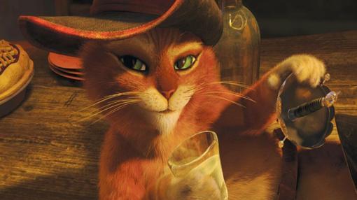 Кот в сапогах - анимационный фильм от студии ДримВоркс, создателей Шрека, вышел в 2011 году, в формате 3Д, нельзя ск ... - Изображение 3