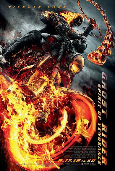 Постер к фильму Призрачный гонщик 2 / Ghost Rider 2.  * Новая рубрика. - Изображение 1