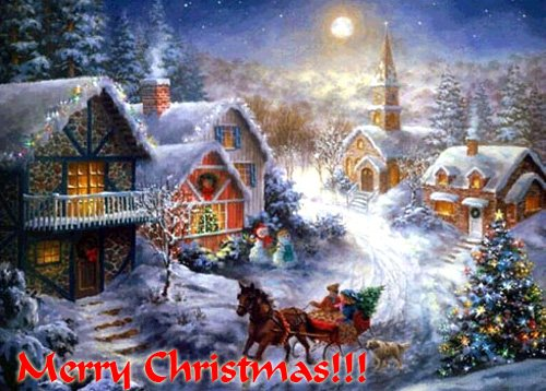 С Рождеством Христовым я Вас поздравляю!Счастья и здоровья, блага всем желаю,Святости, лукавства - в меру чтоб всего ... - Изображение 3
