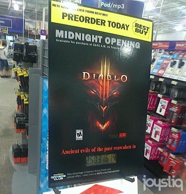Один из крупнейших американских ритейлеров - Best Buy, по-видимому, считает, что Diablo III, как никогда близка к ре ... - Изображение 1