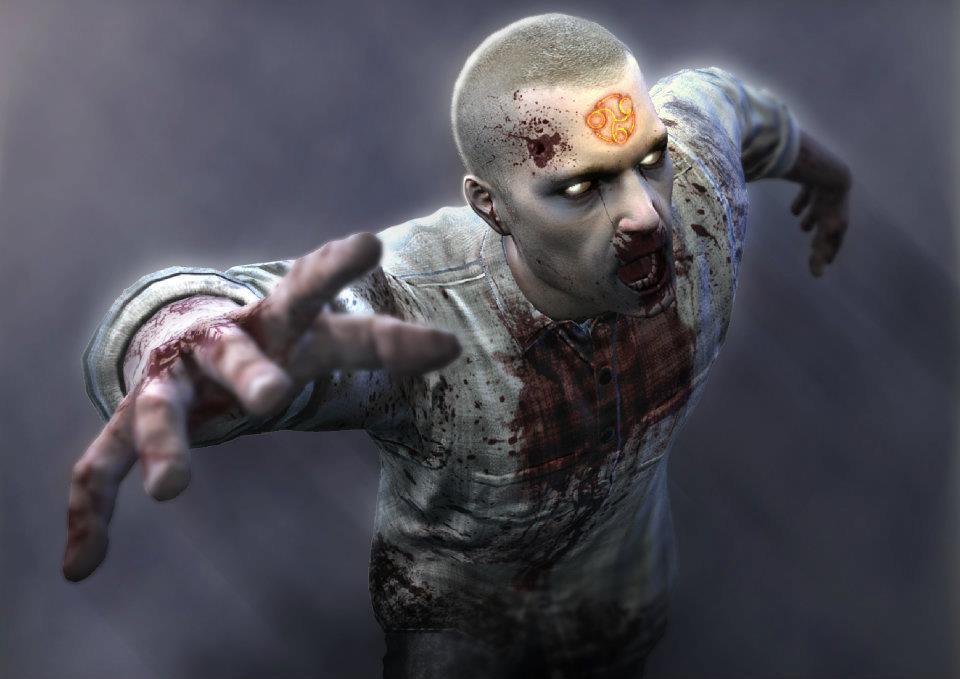 фото жопа зомби