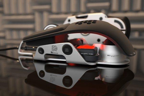Компании Thermaltake и BMW Group DesignworksUSA создали компьютерную мышь Level 10 M необычного дизайна.   Игровая к ... - Изображение 1