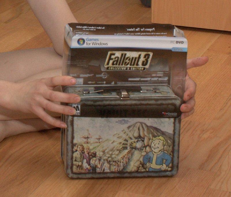 Fallout ланч бокс своими руками 79