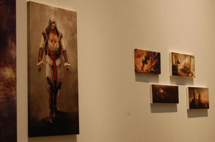4 апреля Ubisoft открыла в Мюнхене небольшую художественную выставку, посвященную серии Assassin`s Creed. В ходе выс ... - Изображение 1