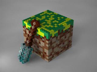Эта захватывающая вещь теперь и в реальном мире.  Это случилось , наборы Minecraft LEGO. Датская компания собрала со ... - Изображение 1