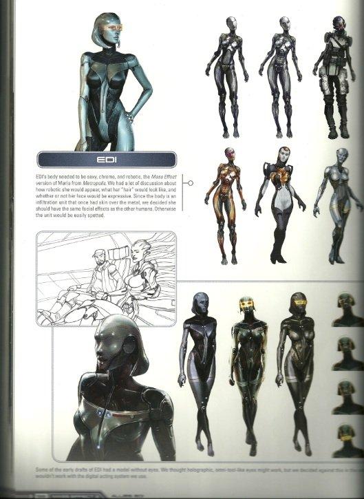 Еще с выхода первой части Mass Effect мы гадали - как же выглядит раса Протеан - древнейших строителей галактики, по ... - Изображение 1
