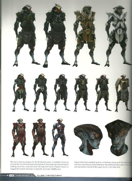 Еще с выхода первой части Mass Effect мы гадали - как же выглядит раса Протеан - древнейших строителей галактики, по ... - Изображение 2