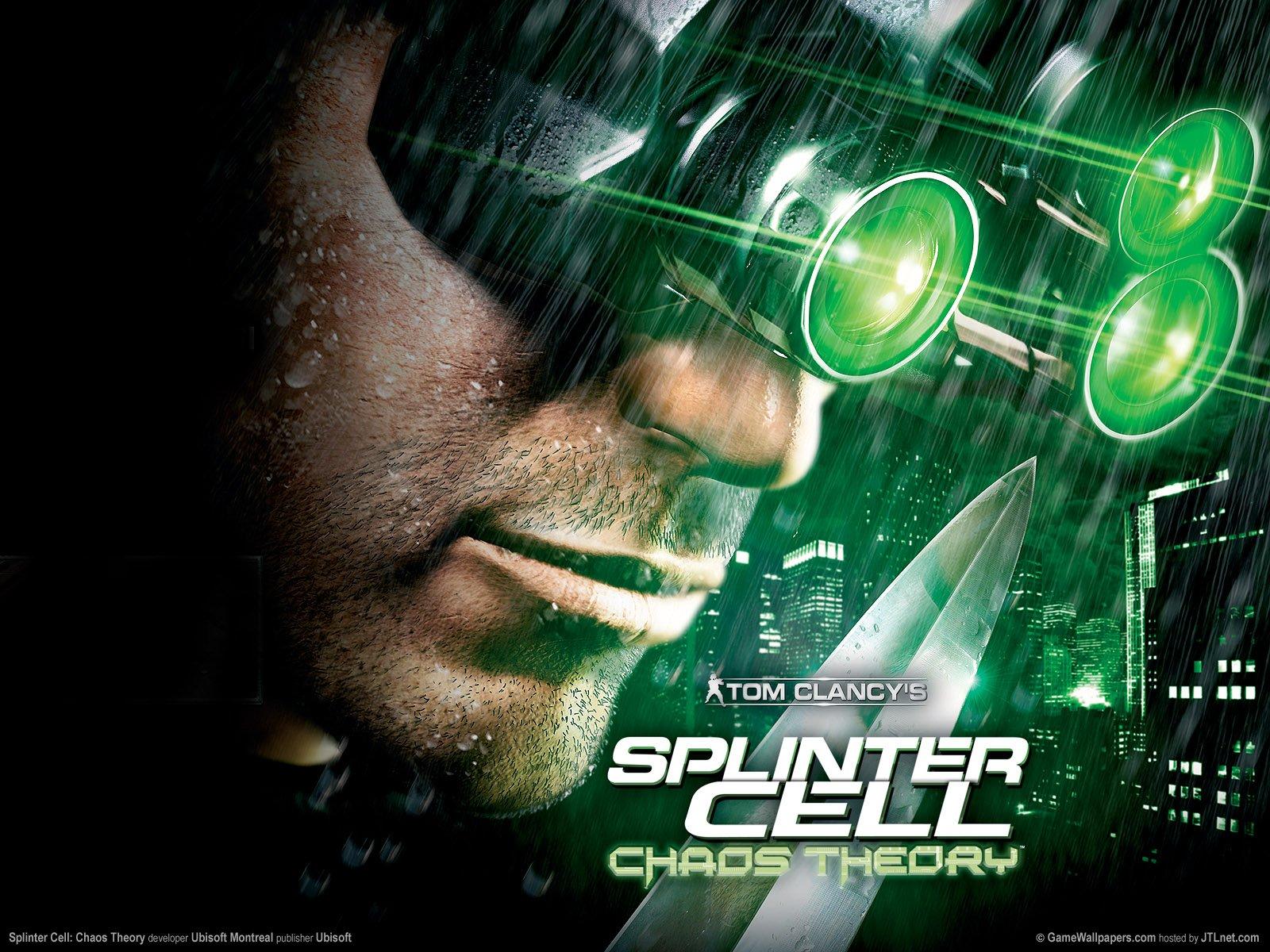 Обоя для рабочего стола к игре Tom Clancy's Splinter Cell Chaos Theory