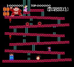 Всем привет!Хотел бы рассказать вам об игре Donkey Kong.  Donkey Kong - игра,выпущенная в далеком 1981 году,изначаль ... - Изображение 3