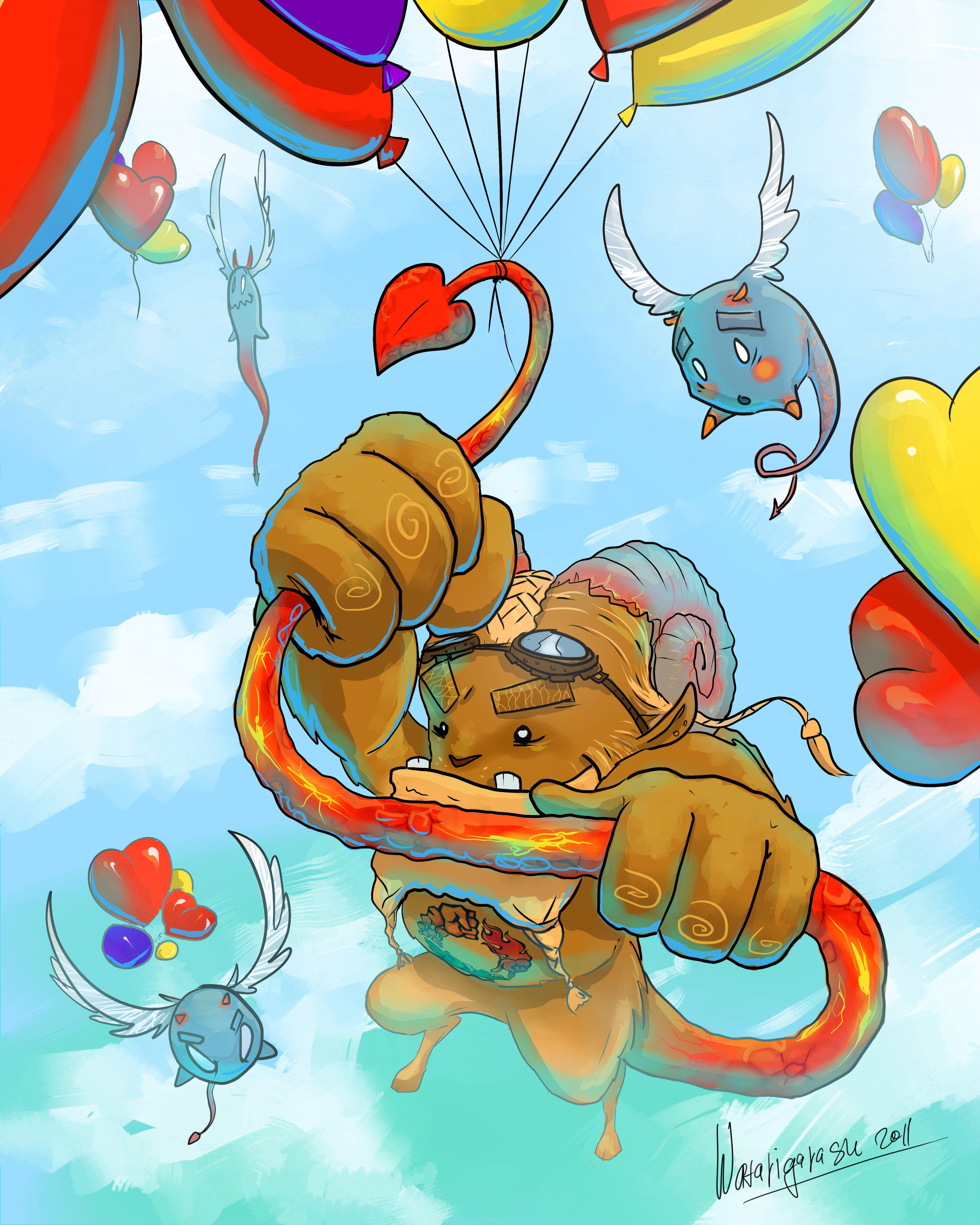 Вчера во сне я увидел Дух Канобу - Канобух) Сегодня он решил всех поздравить с 14 февраля! Любите и будьте любимыми. - Изображение 1