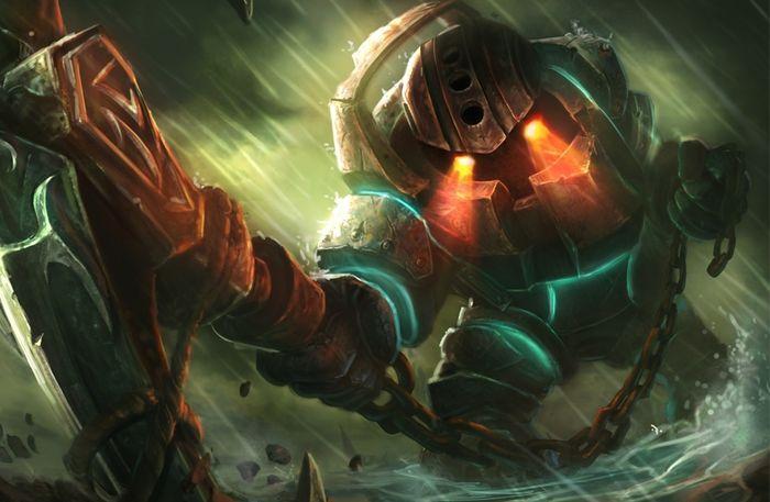 Riot Games представила нового персонажа онлайн-игры League of Legends. Им стал Nautilus, который внешне поразительно ... - Изображение 1