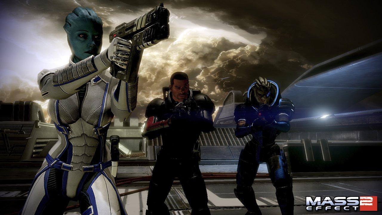 """Мне одному кажется, что аддон к Saint's Row: The Third """"Gangstas in Space"""" похож на Mass Effect? - Изображение 2"""