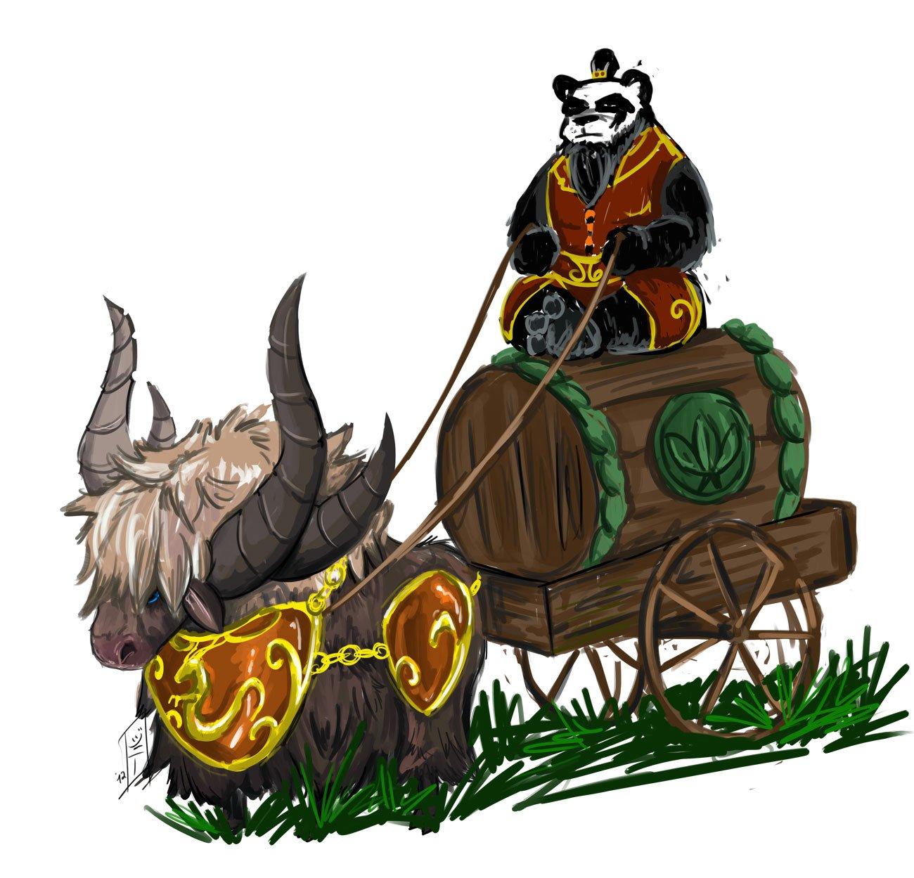 Как некоторые уже знают, что скоро состоится пресс-релиз Mists of Pandaria. (Да, очередное дополнение в World Of War ... - Изображение 1