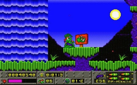 А вы помните эту игру?  Это Jazz Jackrabbit - великолепный 2D платформер, который вышел 17 лет назад.. В 1994 (-95,  ... - Изображение 1