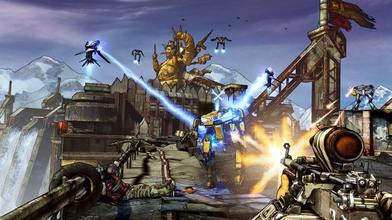 Сегодня утром 2K Games подтвердила, что выходящий в этом году шутер от первого лицаBorderlands 2 будет использовать  ... - Изображение 1