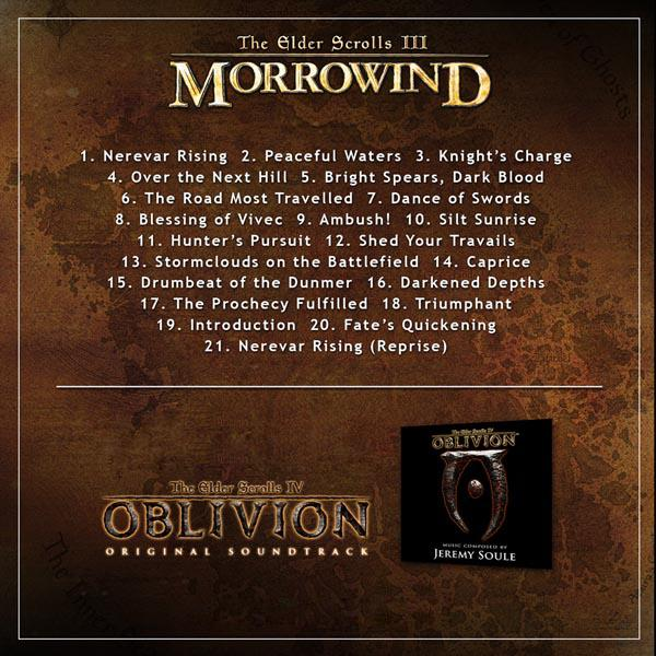 Саундтрек к третьей части легендарной серии RPG от Bethesda Softworks The Elder Scrolls III: Morrowind  Композитор:  ... - Изображение 2
