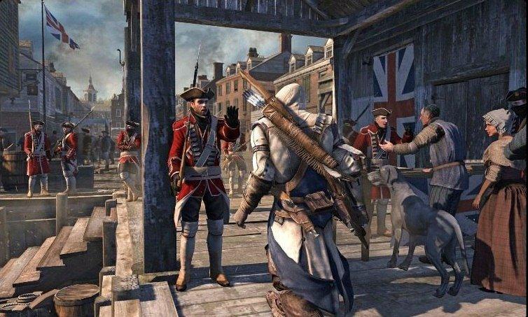 Первые кадры Assassin's Creed III были выложены в Сеть - Изображение 1