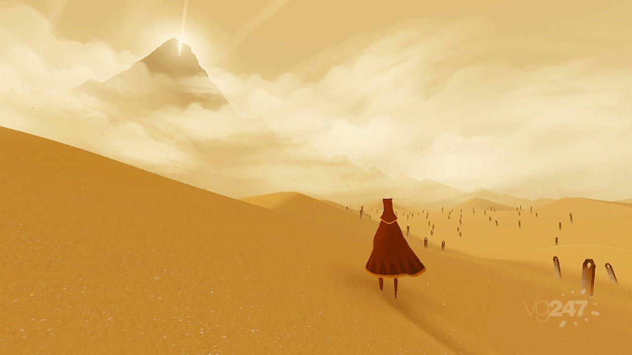 Игра от создателей Fl0w и Flower студии Thatgamecompany про грустный шарфик, который путешествует по пустыне и встре ... - Изображение 2