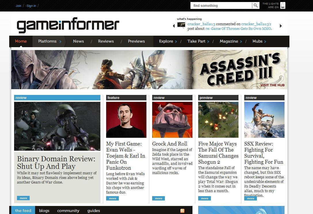 Уже по-традиции журнал Game Informer раскрывает нам подробности новой части Assassin's Creed. На этот раз, однако, р ... - Изображение 1