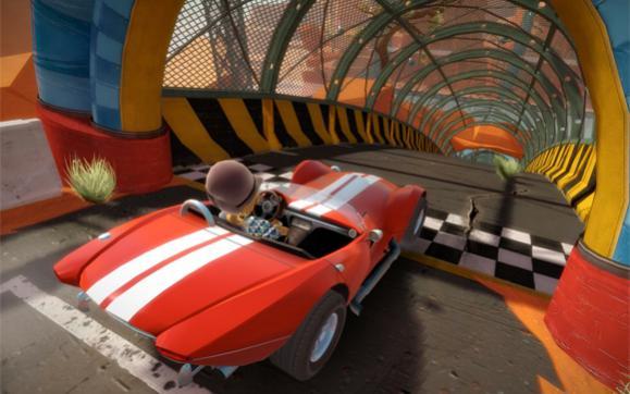 1. Вступление.На данный момент эта игра уникальна в своем гоночном жанре для Кинект игр (не считая Forza 4, которая  ... - Изображение 3