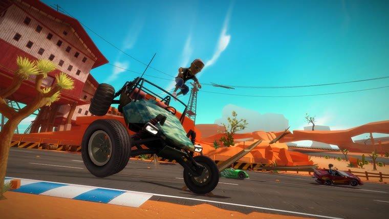 1. Вступление.На данный момент эта игра уникальна в своем гоночном жанре для Кинект игр (не считая Forza 4, которая  ... - Изображение 1