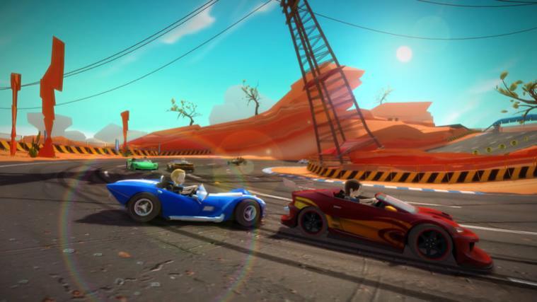 1. Вступление.На данный момент эта игра уникальна в своем гоночном жанре для Кинект игр (не считая Forza 4, которая  ... - Изображение 2