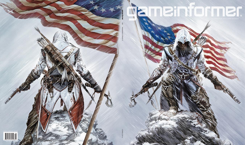 Assassin's Creed III станет главной темой апрельского номера журнала Gameinformer.   Как и предполагалось ранее реда ... - Изображение 3