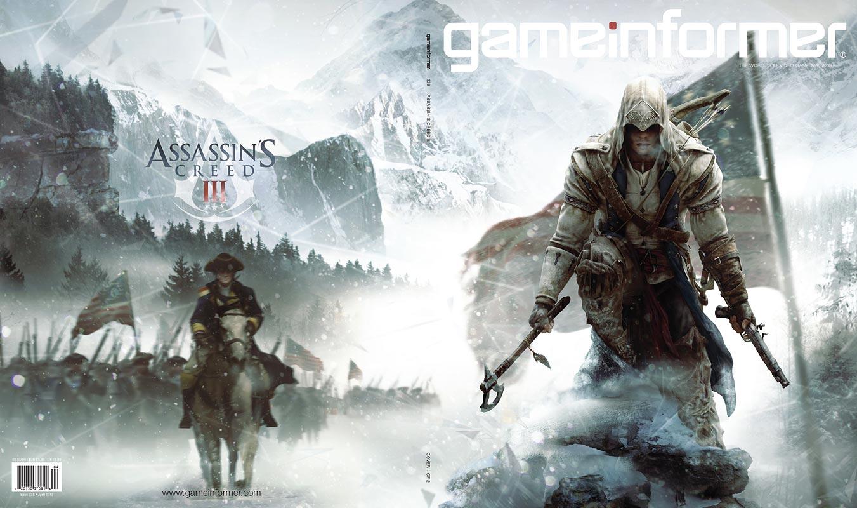 Assassin's Creed III станет главной темой апрельского номера журнала Gameinformer.   Как и предполагалось ранее реда ... - Изображение 2