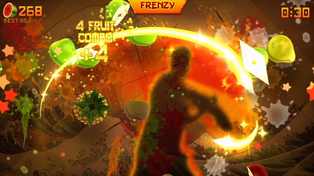 Fruit Ninja для Kinect скачали миллион раз. - Изображение 1