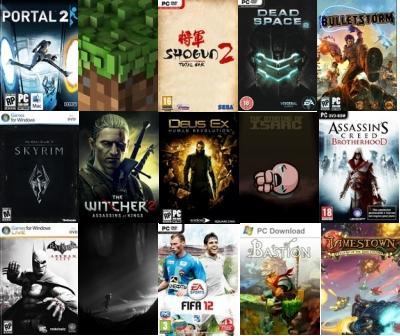 1.The Elder Scrolls 5: Skyrim2.Portal 23.Minecraft4.Batman: Аркхем Сити5.Ведьмак 2: Убийцы королей6.Limbo7.Shogun 2: ... - Изображение 1