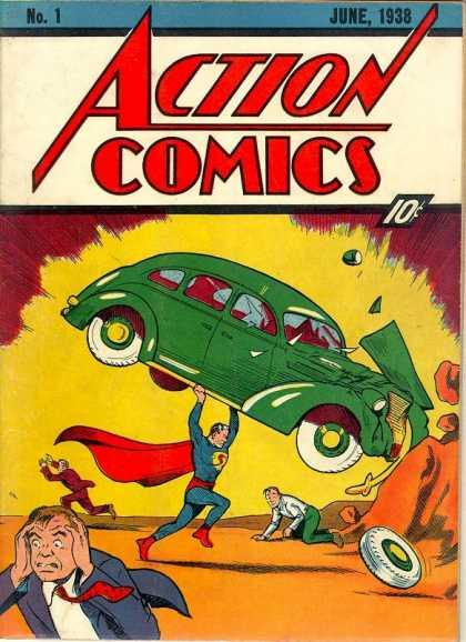 В 2000 году из особняка Николаса Кейджа был похищен раритетный и очень дорогой первый номер Action Comics выпуска 19 ... - Изображение 3