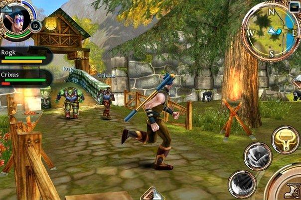 *Разработчик - Gameloft.  Речь пойдёт о, на мой взгляд, самой достойной ММОРПГ на мобильных платформах - Order and C ... - Изображение 3