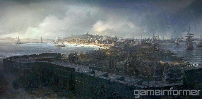 Прежде чем такая игра как Assasin's Creed III появится на экранах ваших телевизоров или мониторов, мир игры должен б ... - Изображение 1