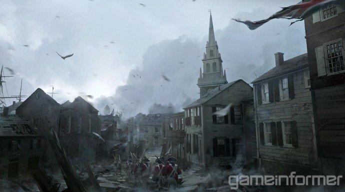 Прежде чем такая игра как Assasin's Creed III появится на экранах ваших телевизоров или мониторов, мир игры должен б ... - Изображение 3