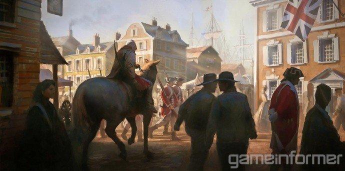 Прежде чем такая игра как Assasin's Creed III появится на экранах ваших телевизоров или мониторов, мир игры должен б ... - Изображение 2