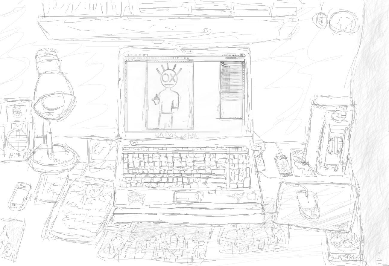 А что вы видите, когда садитесь за свой компьютер? =) - Изображение 1