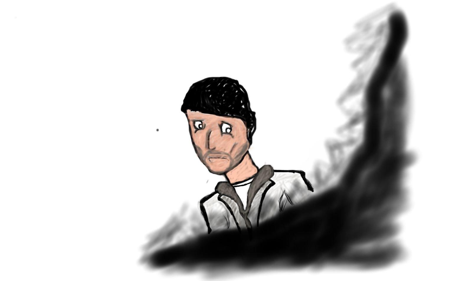 """Ей """"Канобу""""!Сегодня вечером,не имея скилла по рисованию но имея много свободного времени я пытался накинуть самого с ... - Изображение 1"""