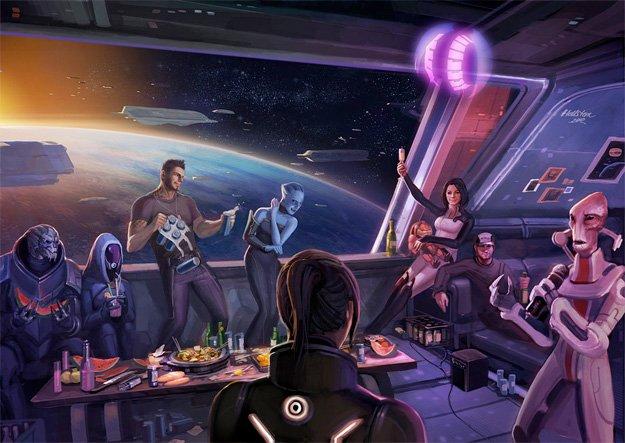 Я долго не мог понять, почему после прохождения Mass Effect 3 у меня не осталось неприятного осадка. Интернет пестри ... - Изображение 2
