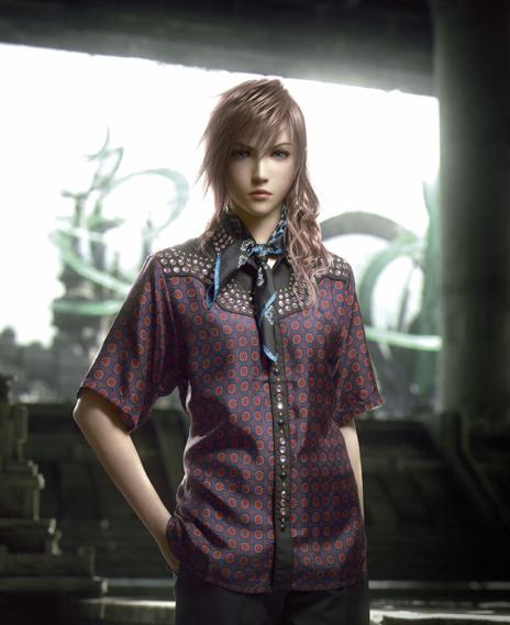 Героев Final Fantasy XIII-2 одели в костюмы Prada - Изображение 2
