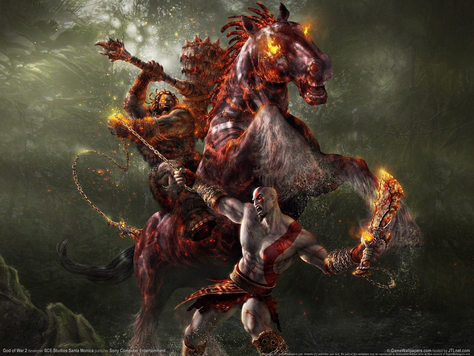 Хотелось бы вспомнить одну из лучших игр своего жанра,а именно серию God of War.Игра предлагала нам много крови,мяса ... - Изображение 1