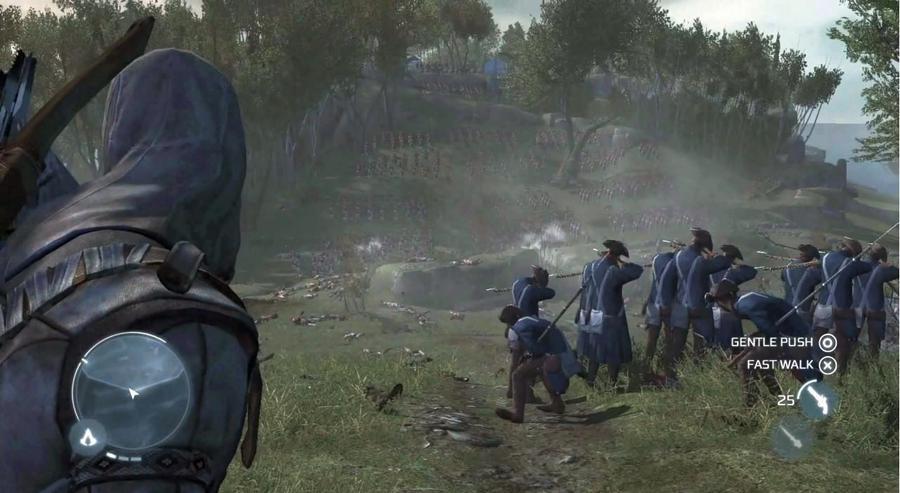 Вот вам еще парочка скриншотов проекта Assassin`s Creed 3, утекших в сеть с демонстрации игры на PAX East 2012(снова ... - Изображение 2