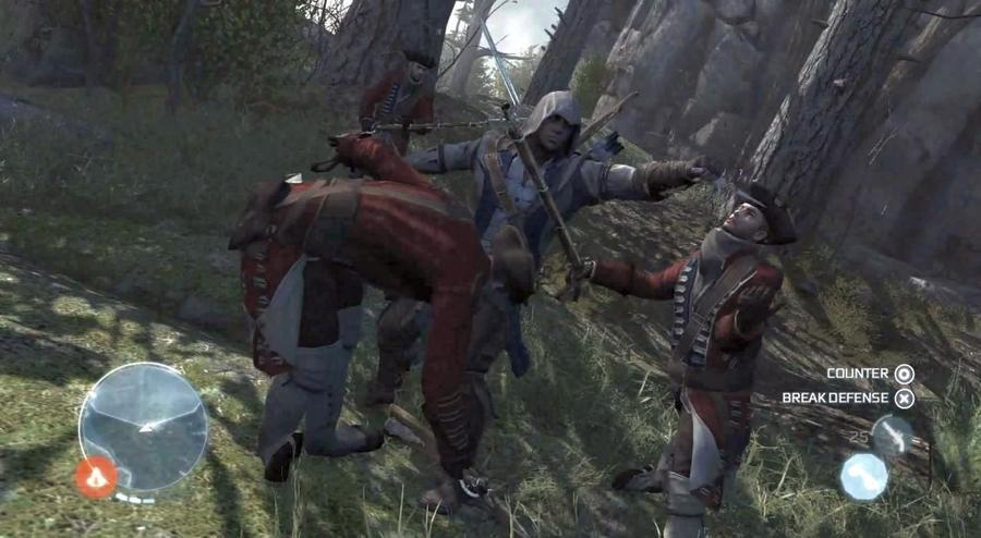 Вот вам еще парочка скриншотов проекта Assassin`s Creed 3, утекших в сеть с демонстрации игры на PAX East 2012(снова ... - Изображение 1