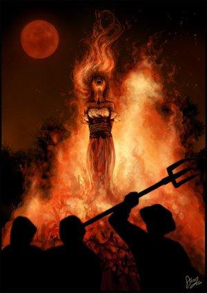 Словно искусные танцоры, сочные оранжевые языки пламени вздымались ввысь, бросались в стороны, крутились в бешеном р ... - Изображение 1